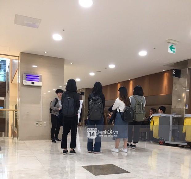 Độc quyền tang lễ Sulli từ Hàn: Fan khiếm thị một mình đến chờ, Yoo Ah In tiết lộ sao Hàn đã đến viếng từ rạng sáng - Ảnh 12.