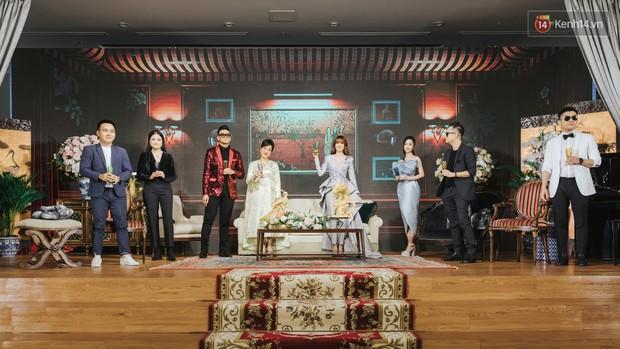Cao tay ấn như Lan Ngọc và Jun Vũ vẫn bị lu mờ vì kim sa hột lựu  của Xuân Tiền ở thảm đỏ Gái Già Lắm Chiêu 3 - Ảnh 4.