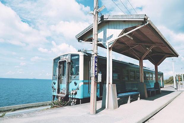 """""""Nhà ga cô độc"""" nhất Nhật Bản: Đẹp như tranh vẽ khiến ai cũng ngỡ bước ra từ """"Vùng đất linh hồn"""" nhưng sự thật lại không lung linh như vậy - Ảnh 2."""