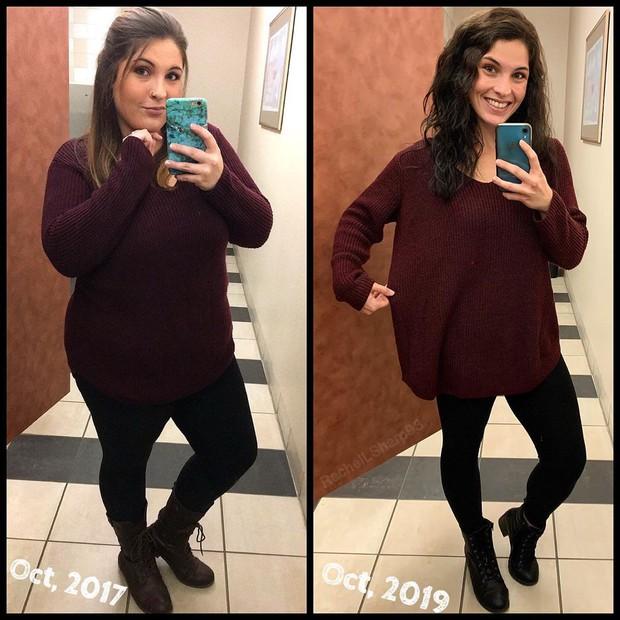 Cô gái 26 tuổi giảm gần 50kg trong 1 năm nhờ phương pháp mà không phải ai cũng dám làm - Ảnh 10.