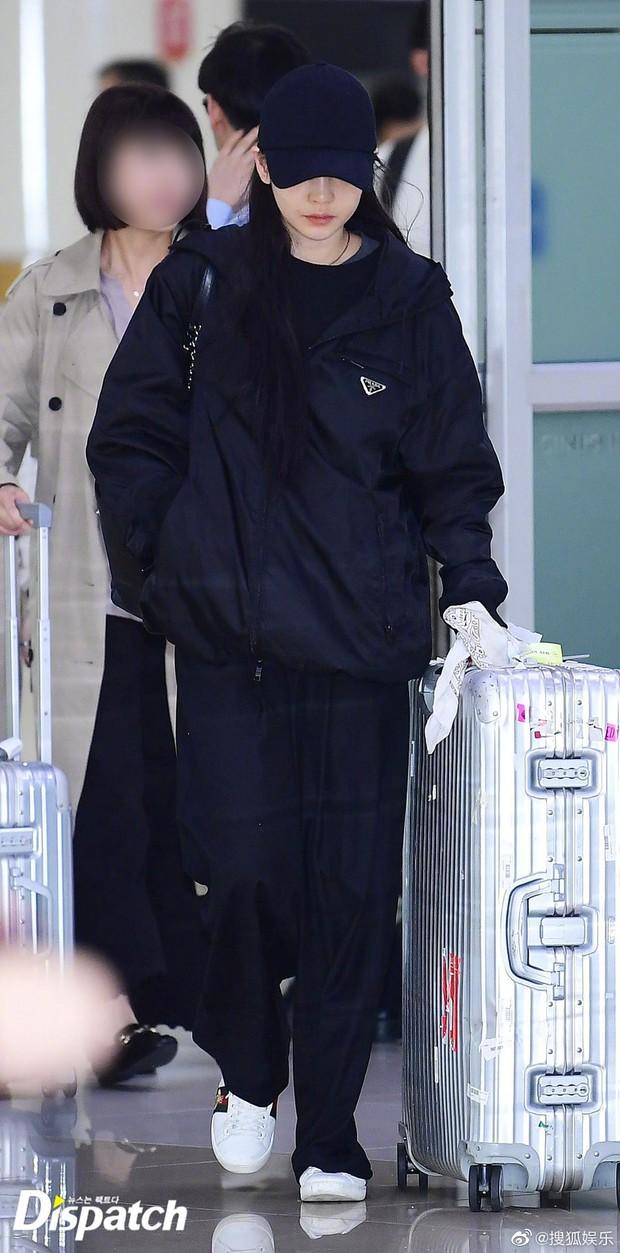 Goo Hara khóc nức nở tại sân bay, vội vàng từ Nhật trở về Hàn tạm biệt Sulli về cõi vĩnh hằng - Ảnh 1.