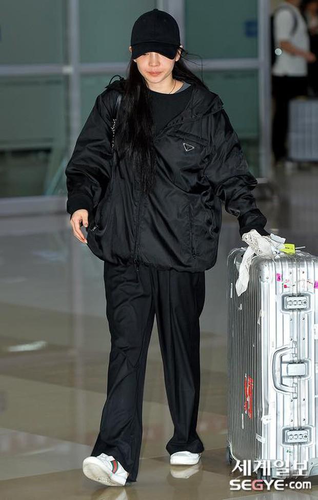 Goo Hara khóc nức nở tại sân bay, vội vàng từ Nhật trở về Hàn tạm biệt Sulli về cõi vĩnh hằng - Ảnh 5.