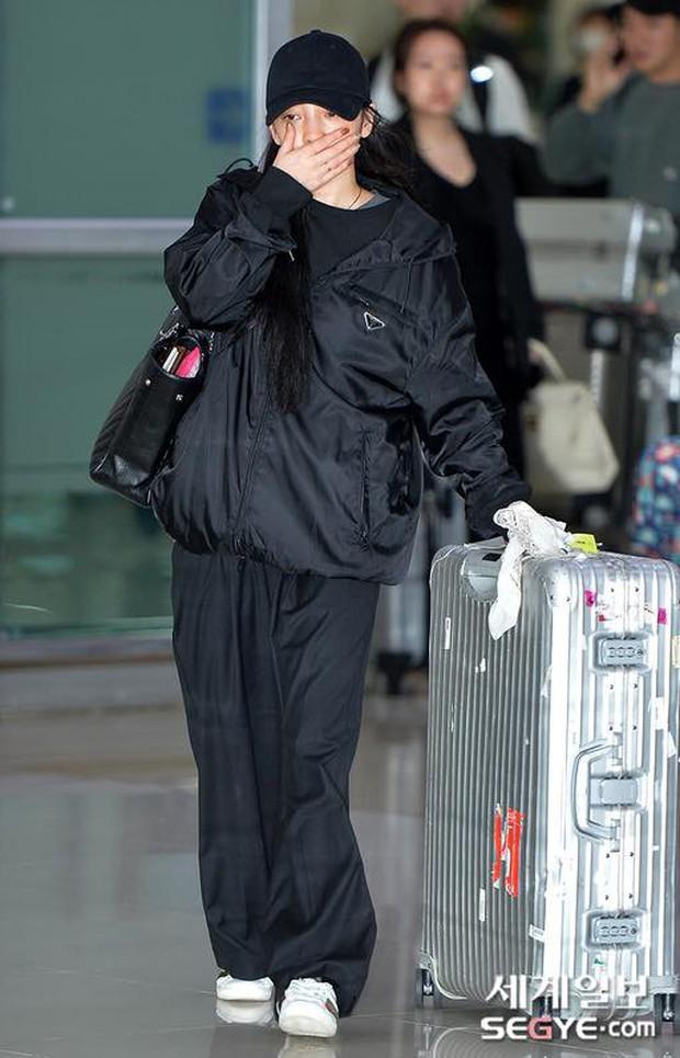Goo Hara khóc nức nở tại sân bay, vội vàng từ Nhật trở về Hàn tạm biệt Sulli về cõi vĩnh hằng - Ảnh 7.