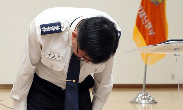 Làm rò rỉ văn kiện liên quan đến cái chết của Sulli, cảnh sát Hàn Quốc cúi đầu công khai xin lỗi - Ảnh 2.
