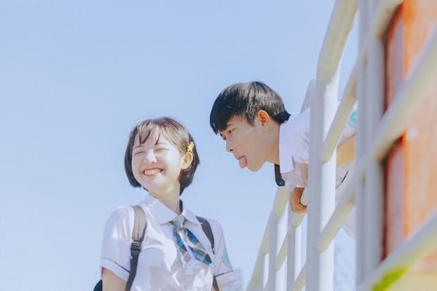Bộ ảnh tình yêu tuổi học trò siêu cấp dễ thương: Thì ra chúng ta ai cũng từng có một thanh xuân rực rỡ như vậy! - Ảnh 8.