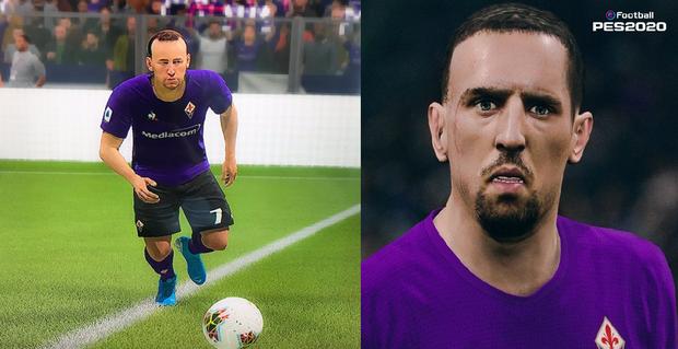 Ngôi sao Franck Ribery chê bai FIFA 20 cẩu thả trong tạo hình cầu thủ, PES ngay lập tức nhảy vào cà khịa - Ảnh 3.