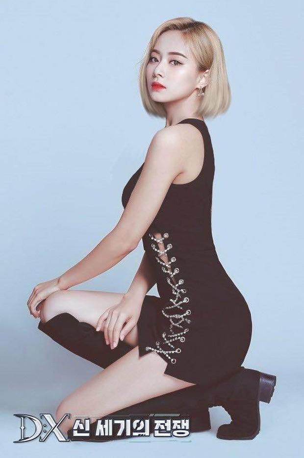 Photoshop ảnh tóc ngắn cho nữ thần sắc đẹp Tzuyu (TWICE), fan mất luôn máu vì visual sexy bùng nổ của cô nàng - Ảnh 1.