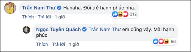 Tình cũ Quách Ngọc Tuyên công khai bạn gái, Nam Thư chỉ nói 1 câu đã được khen ngợi cư xử đẹp - Ảnh 2.