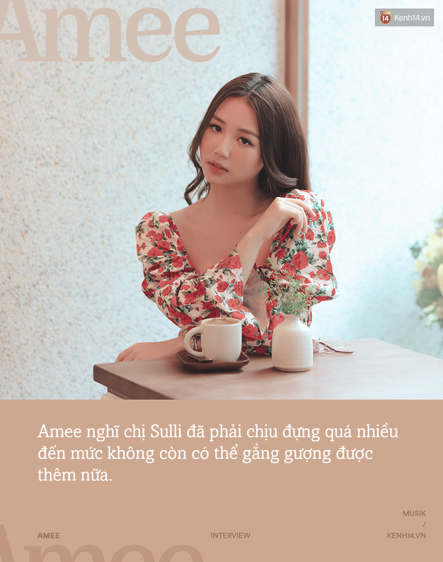 Amee: Ai cũng sẽ từng bị lừa dối tình cảm, chuyện trong MV mới chính là mối tình đầu năm 15 tuổi của tôi - Ảnh 6.