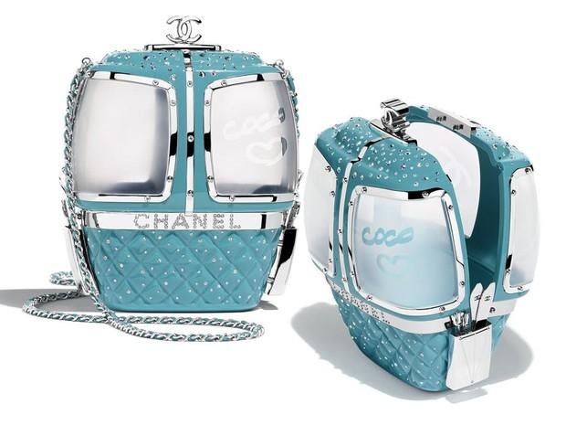 Khánh Linh đập hộp túi Chanel hàng độc, chưa hết trầm trồ với thiết kế lạ mắt đã phải toát mồ hôi vì mức giá - Ảnh 4.