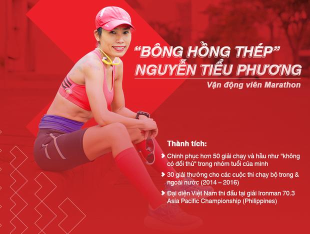 Marathon Techcombank 2019: Tiểu Phương và hành trình của bông hồng thép làng chạy Việt - Ảnh 1.