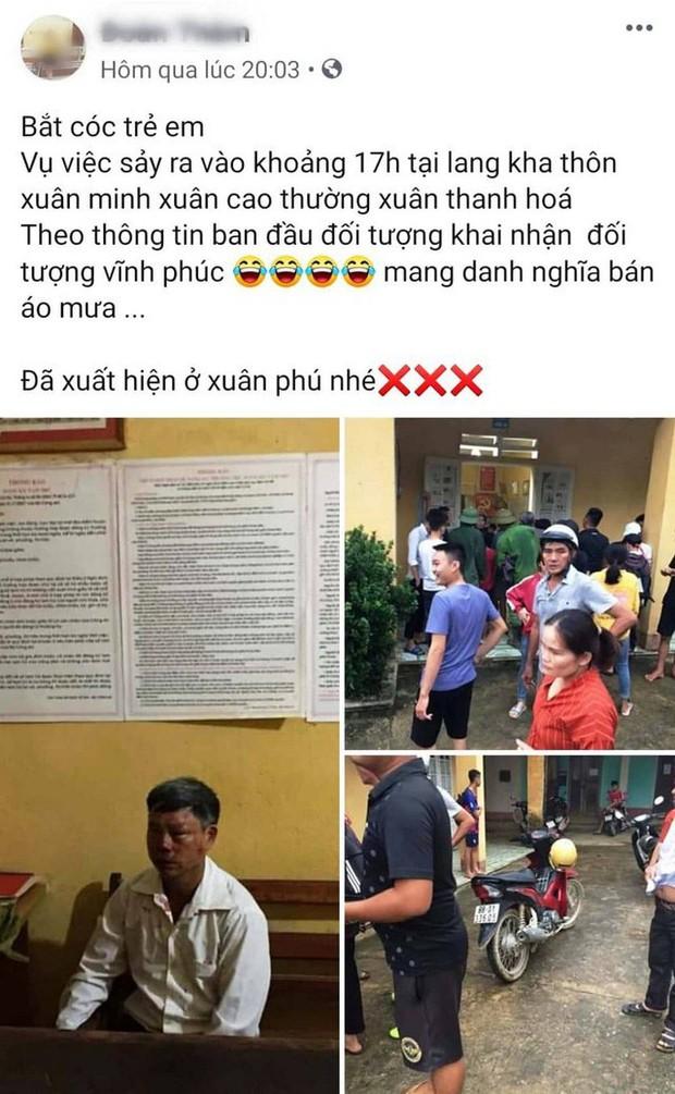 Thanh Hóa: Đi bán áo mưa, người đàn ông bị đánh bầm tím vì tưởng bắt cóc trẻ con - Ảnh 1.