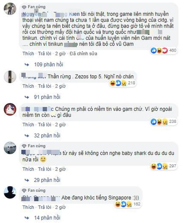 """Đâu đó tại Singapore, thầy giáo quốc dân """"mất ăn mất ngủ"""" vì fan yêu cầu xóa kênh sau thảm bại của GAM tại CKTG - Ảnh 4."""
