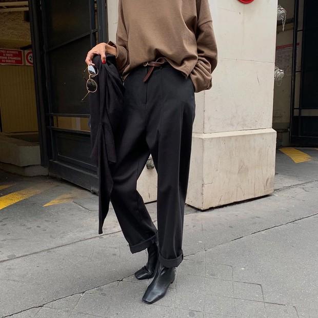 Boots + quần dài: Công thức chưa bao giờ hết hot nhưng mix theo 3 cách này mới là chất nhất - Ảnh 4.