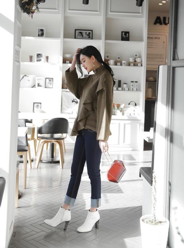 Boots + quần dài: Công thức chưa bao giờ hết hot nhưng mix theo 3 cách này mới là chất nhất - Ảnh 7.