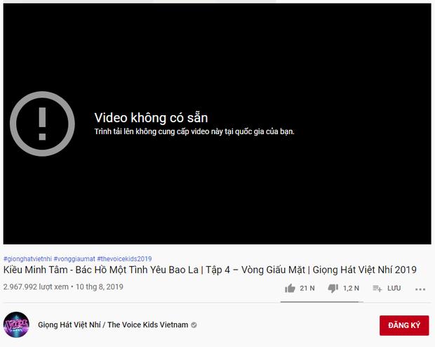 Kỳ lạ các clip Giọng hát Việt nhí 2019 bất ngờ bốc hơi khỏi kênh YouTube chính thức - Ảnh 3.