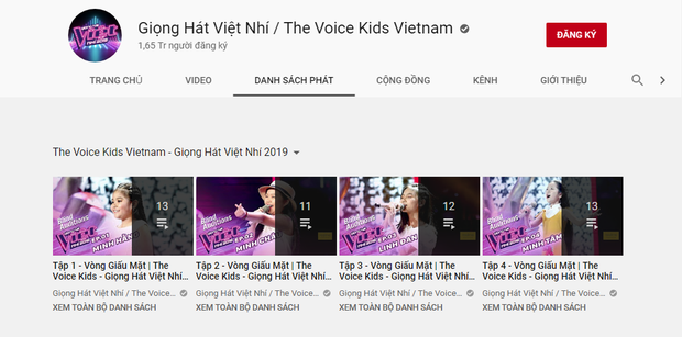 Kỳ lạ các clip Giọng hát Việt nhí 2019 bất ngờ bốc hơi khỏi kênh YouTube chính thức - Ảnh 2.