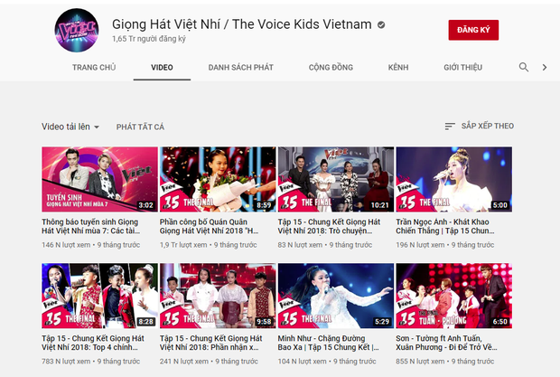 Kỳ lạ các clip Giọng hát Việt nhí 2019 bất ngờ bốc hơi khỏi kênh YouTube chính thức - Ảnh 1.