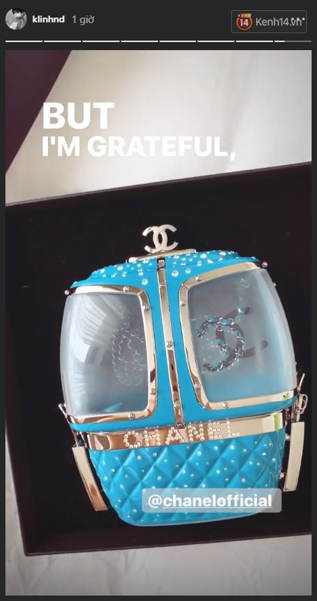 Khánh Linh đập hộp túi Chanel hàng độc, chưa hết trầm trồ với thiết kế lạ mắt đã phải toát mồ hôi vì mức giá - Ảnh 3.