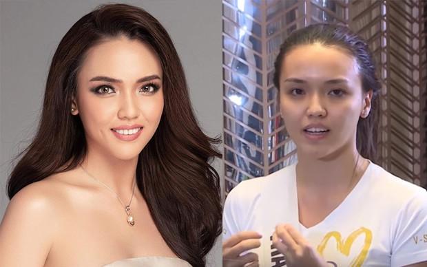 6 thí sinh Hoa hậu Hoàn vũ Việt Nam khoe mặt mộc khác xa hình studio: Cô gái đánh bại Thúy Vân liệu có xứng đáng? - Ảnh 5.