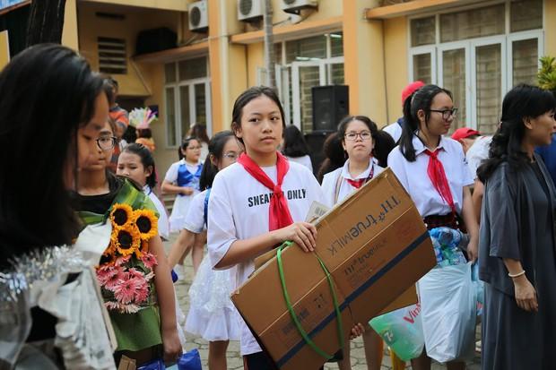 Độc đáo chương trình biểu diễn thời trang chung tay bảo vệ môi trường của học sinh Hà Nội - Ảnh 10.
