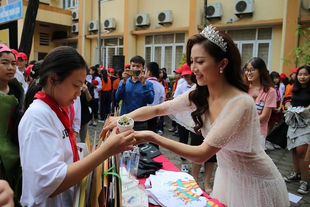 Độc đáo chương trình biểu diễn thời trang chung tay bảo vệ môi trường của học sinh Hà Nội - Ảnh 7.