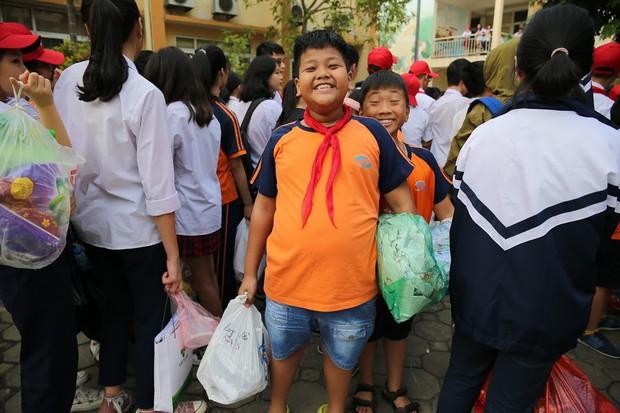 Độc đáo chương trình biểu diễn thời trang chung tay bảo vệ môi trường của học sinh Hà Nội - Ảnh 11.