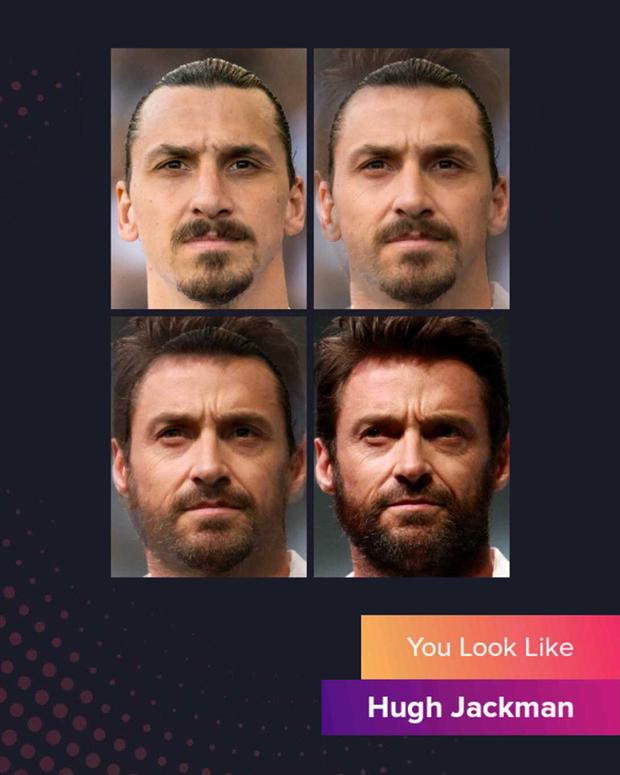 Cười đau bụng với chùm ảnh siêu sao bóng đá biến thành tài tử điện ảnh thông qua app Bạn giống ai: Messi hóa Brad Pitt, Ronaldo như Tom Cruise - Ảnh 6.