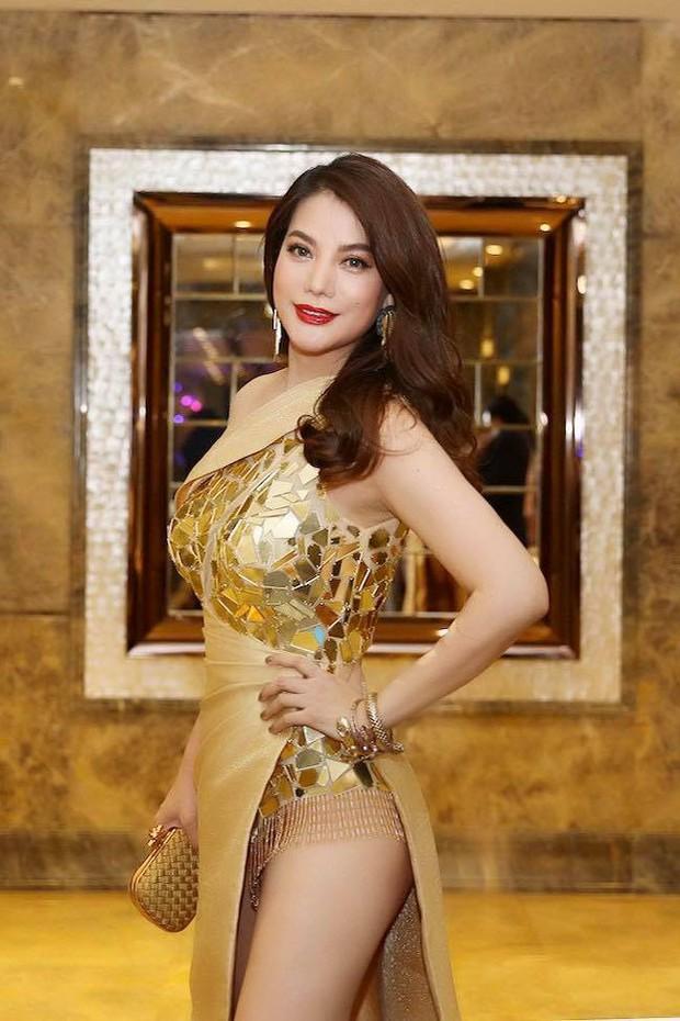 Ngập sắc vàng kim cả một thảm đỏ: Lan Ngọc đài các đúng kiểu Crazy Rich Asian, Nhã Phương long lanh tựa nữ thần - Ảnh 14.
