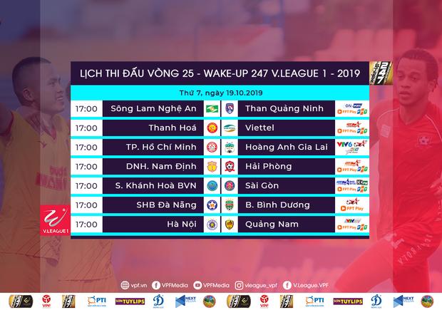 Vòng 25 V.League 2019: HAGL còn cửa xuống hạng, cuộc đua trụ hạng vẫn chưa đi đến hồi kết - Ảnh 2.