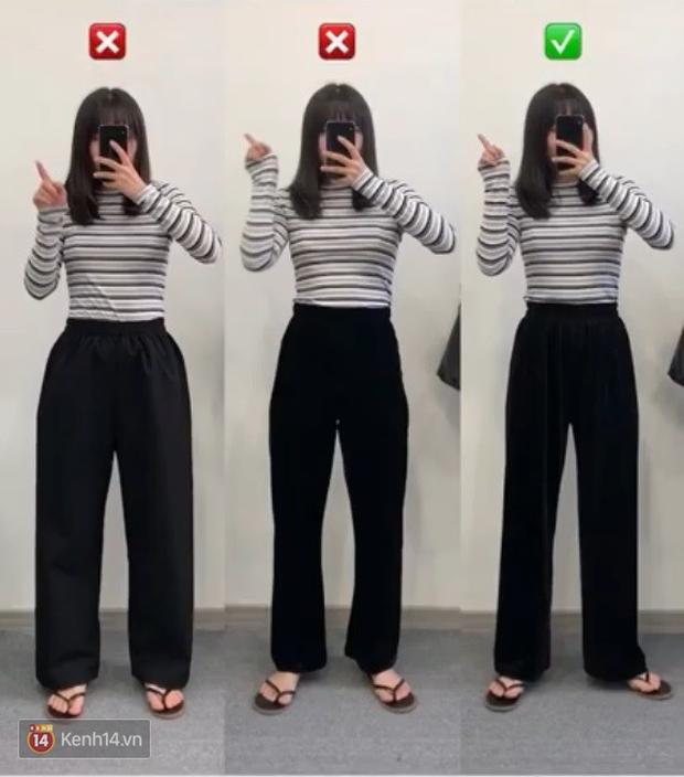 Đại diện các nàng đùi to mặc thử 3 dáng quần dài basic, cô nàng này đã tìm ra loại tôn chân nịnh dáng nhất - Ảnh 3.