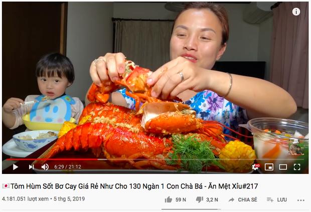 """Hiện tượng MXH Quỳnh Trần JP đang sở hữu 4 video khủng nhất nhì giới Youtube ẩm thực Việt: toàn món đắt tiền, mukbang đúng kiểu """"dạ dày không đáy"""" - Ảnh 12."""