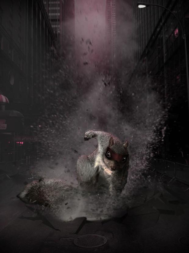 Nhìn các thánh photoshop chế hình chú sóc với dáng đứng bá đạo, ta mới thấy trí tưởng tượng của con người là vô biên - Ảnh 23.