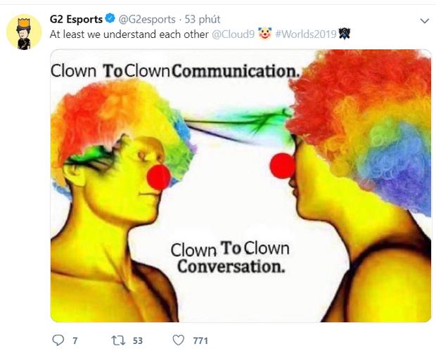 Quyết tâm không trở thành trò cười của các đại diện châu Âu, Cloud9 tự troll chính mình ngay sau khi bị loại khỏi CKTG 2019 - Ảnh 4.