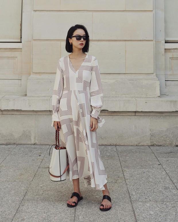 Bỗng thấy không kiểu váy nào vượt qua được váy dài về độ sang chảnh, yêu kiều và hợp rơ với tiết trời se lạnh - Ảnh 7.