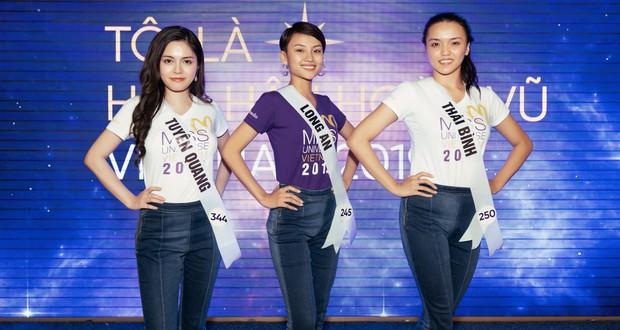 6 thí sinh Hoa hậu Hoàn vũ Việt Nam khoe mặt mộc khác xa hình studio: Cô gái đánh bại Thúy Vân liệu có xứng đáng? - Ảnh 1.