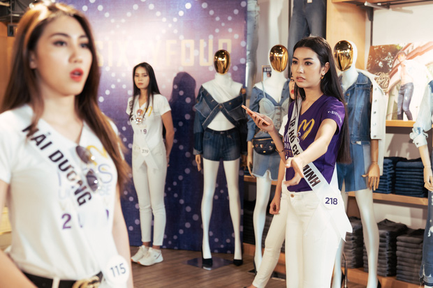 San sẻ việc với đội trưởng cũng bị bắt bẻ, Thúy Vân đang bị giám khảo Hoa hậu Hoàn vũ VN xử ép? - Ảnh 3.