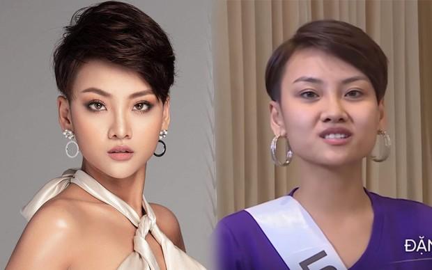 6 thí sinh Hoa hậu Hoàn vũ Việt Nam khoe mặt mộc khác xa hình studio: Cô gái đánh bại Thúy Vân liệu có xứng đáng? - Ảnh 3.