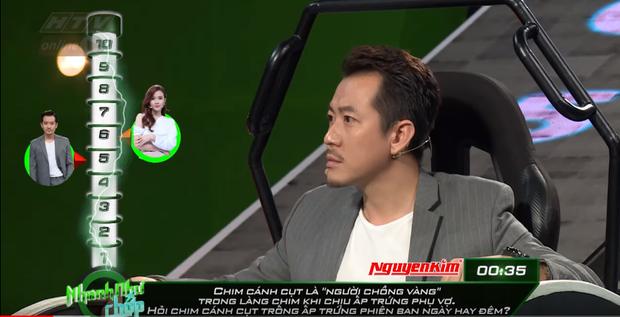 Nhanh như chớp: Hari Won lại bị chê bai về cách đọc câu hỏi, khiến Trường Giang phải sửa lỗi chính tả - Ảnh 3.