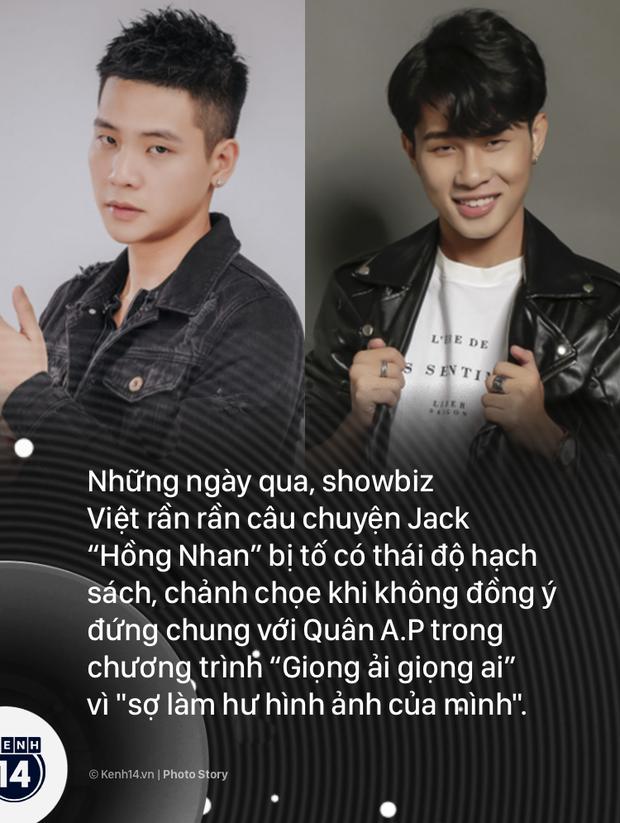Netizen tranh thủ cà khịa khi tập Giọng ải giọng ai có Quân A.P lên sóng cùng lúc với MV mới của Jack - Ảnh 1.