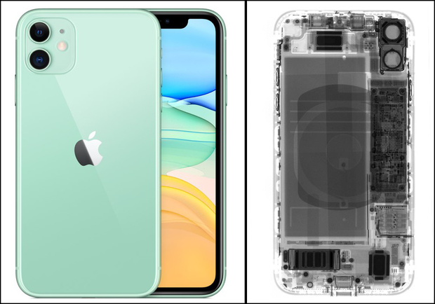Thử chụp X quang iPhone 11, cả làng nhao nhao vì một chi tiết trùng hợp tầm cỡ vũ trụ đa chiều - Ảnh 1.