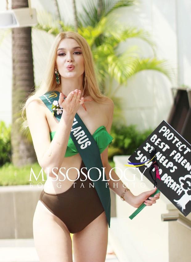 Đại diện Việt Nam diện bikini khoe body nổi bật, kéo đến dàn thí sinh Hoa hậu Trái đất 2019 đúng là hết hồn - Ảnh 6.