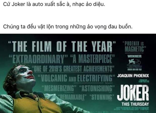 MXH Việt phát cuồng sau suất chiếu đầu tiên của Joker: Tuyệt phẩm từ hình ảnh đến âm thanh, Joaquin là gã hề xuất sắc nhất lịch sử! - Ảnh 2.