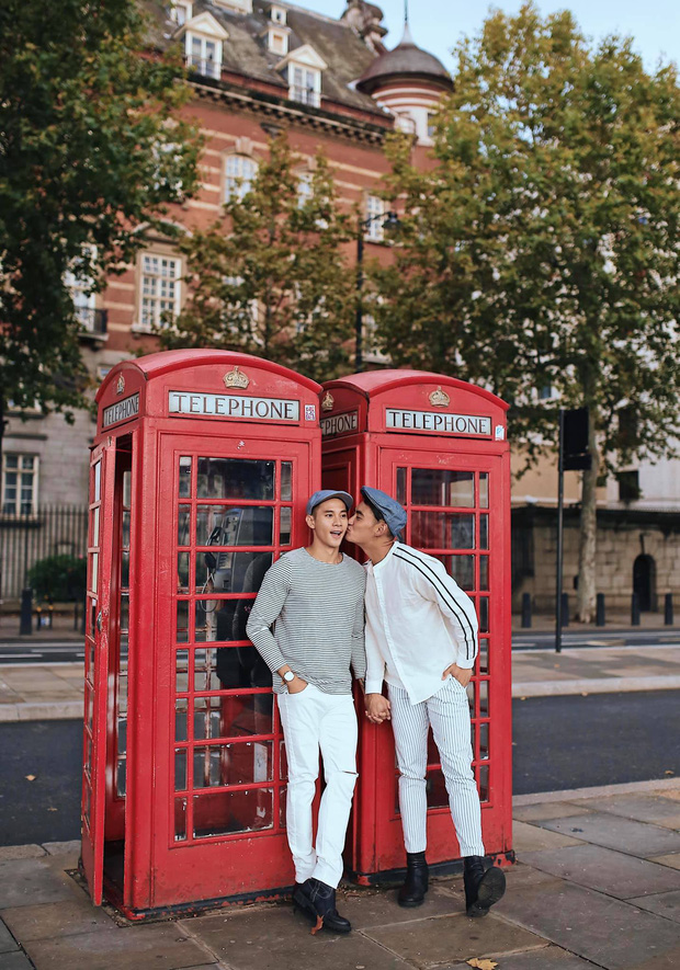 Hồ Vĩnh Khoa và bạn đời hạnh phúc kỷ niệm 2 năm ngày cưới tại London, dành cho nhau lời nhắn nhủ ngọt ngào đến tan chảy - Ảnh 2.