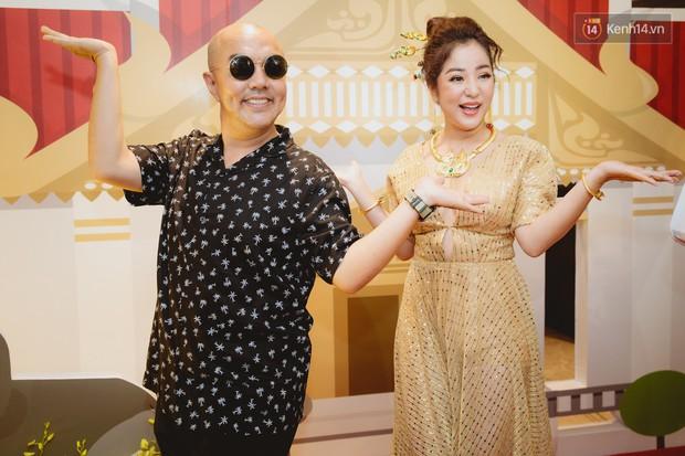 Thúy Nga tự tin khoe ngực đầy ở tuổi 42, hội ngộ Lâm Khánh Chi, Minh Dự cùng dàn nghệ sĩ tại họp báo - Ảnh 10.