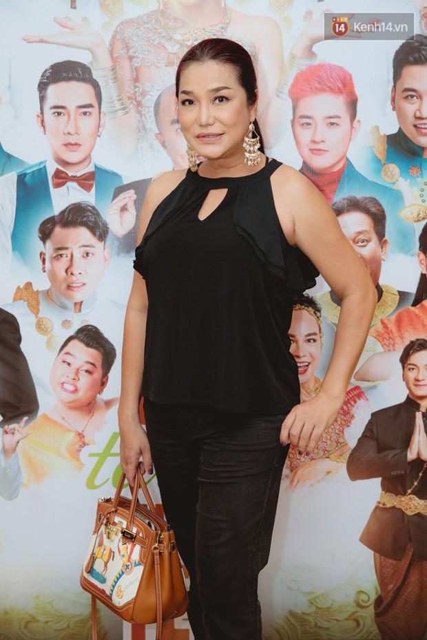 Thúy Nga tự tin khoe ngực đầy ở tuổi 42, hội ngộ Lâm Khánh Chi, Minh Dự cùng dàn nghệ sĩ tại họp báo - Ảnh 4.