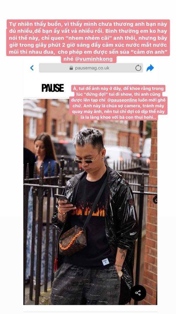 Cô em trendy Khánh Linh kể chuyện 3 mùa Fashion Week đều có người yêu đi theo chăm chút, ngôn tình ngập cả trời Tây rồi! - Ảnh 4.