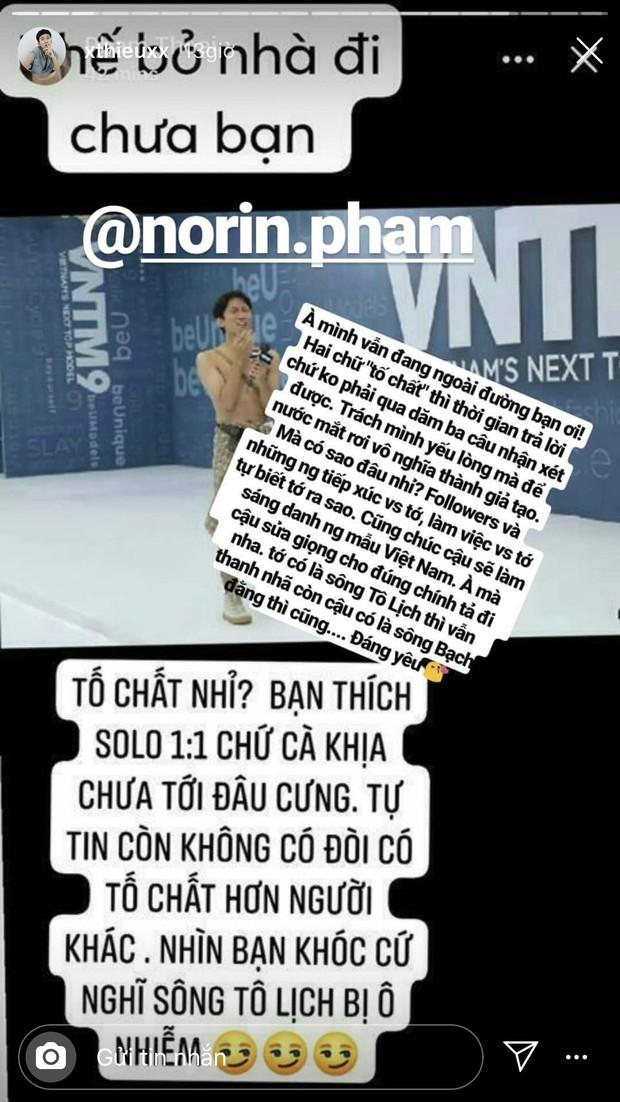 Chưa vào nhà chung, Thánh chửi Phạm Thoại đấu khẩu gay gắt với thí sinh Next Top trên mạng xã hội - Ảnh 3.
