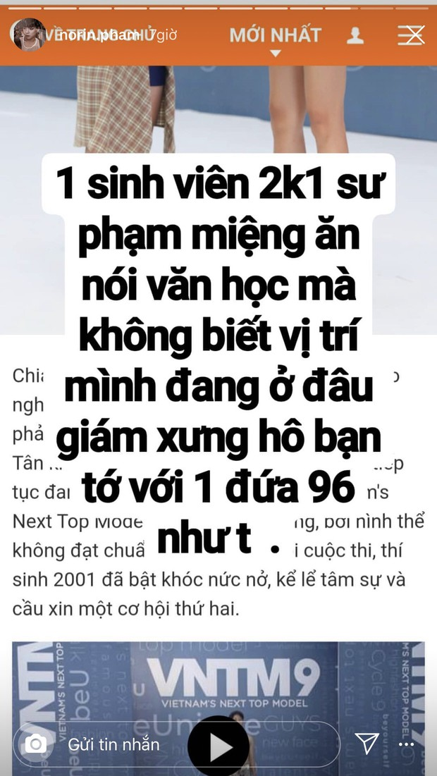 Chưa vào nhà chung, Thánh chửi Phạm Thoại đấu khẩu gay gắt với thí sinh Next Top trên mạng xã hội - Ảnh 6.