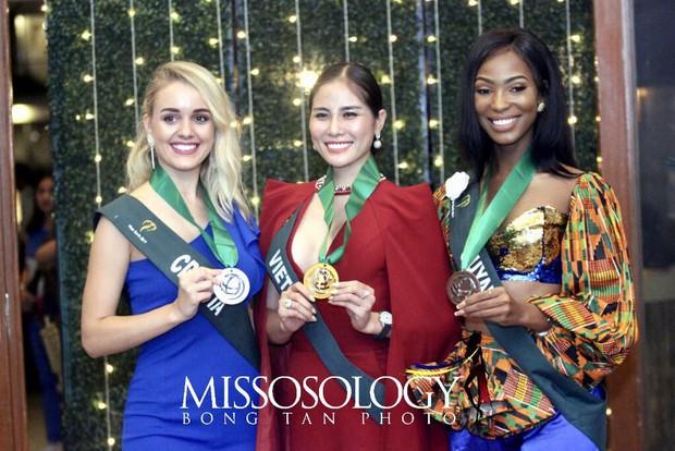 Biến hoá độc đáo, Hoàng Hạnh mang về huy chương vàng phần thi bikini tại Hoa hậu Trái đất - Ảnh 2.
